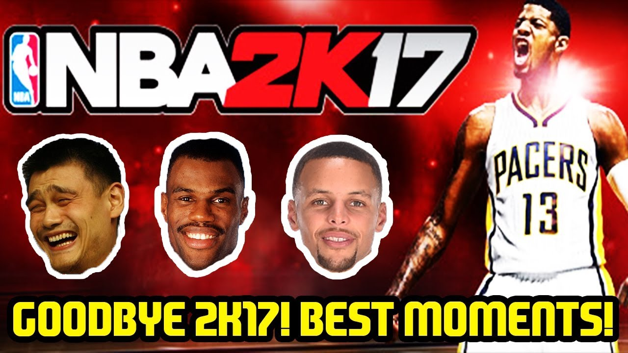 GOODBYE NBA 2K17! MYTEAM YEAR IN REVIEW BEST MOMENTS! - YouTube 2c5eed91a