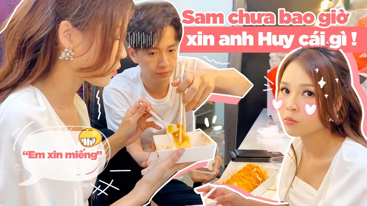 """SAM Xin Ăn Bất Chấp Trong Hậu Trường, Bị """"Anh Guột"""" NGÔ KIẾN HUY Bốc Phốt Là ĐẠI GIA"""