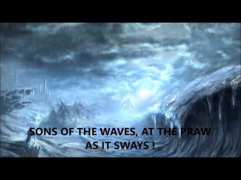 Valhalore - Across The Frozen Ocean (with lyrics)