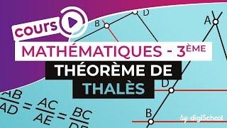 Théorème de Thalès - Mathématiques