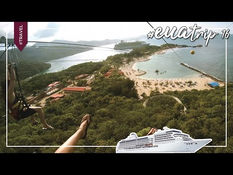 Haiti, Dragon's Breath Flight Line!! | Cruzeiro pelo Caribe | #EUAtrip 16