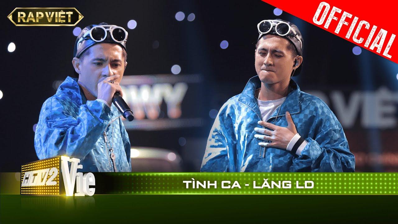 Hit maker Lăng LD rap Tình ca cực lụi tim khiến 4 HLV nghe xong thi nhau chọn| RAP VIỆT [Live Stage]