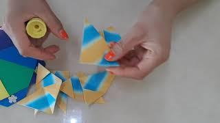 종이접기 파라솔 우산