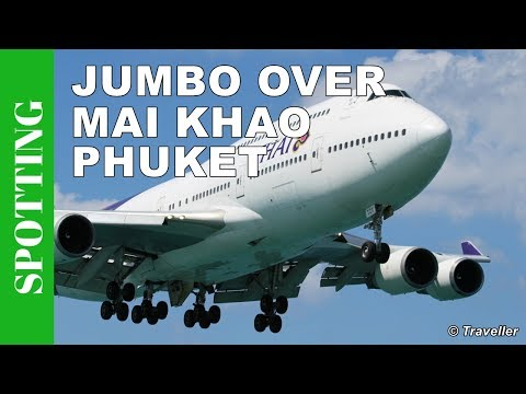 Phuket Airport Spotting, Mai Khao Beach – Phukets answer 2 Princess Juliana Airport  Saint Maarten 2
