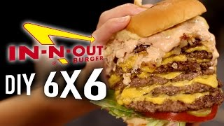 DIY In-N-Out 6x6 Animal Style