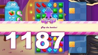 Candy Crush Soda Saga Level 1187 (No boosters)