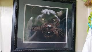 십자수 외국도안 Black Panther  판매