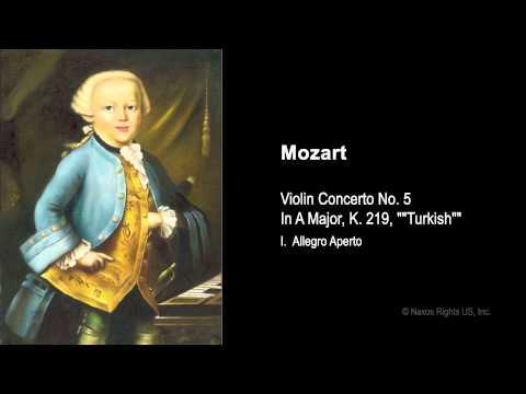 Pekka Kuusisto     Mozart, W.A.  --  I. Allegro aperto