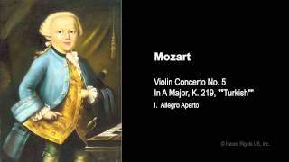 Pekka Kuusisto  |  Mozart, W.A.  --  I. Allegro aperto