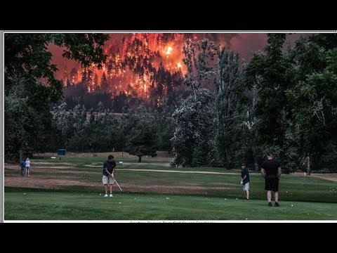 Wildfires burning down forests and houses in Oregon, Montana, Idaho, Oregon, Washington, California