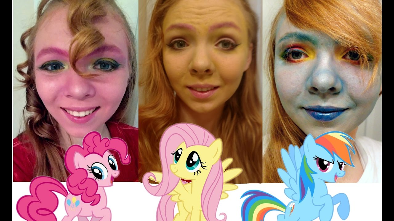 little pony makeup and hair