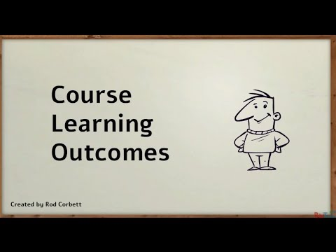 Course Learning Outcomes