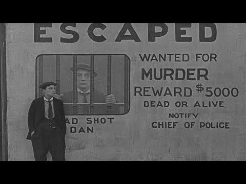Buster Keaton –  The Goat (1921) Silent film
