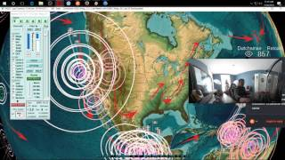 12/08/2016 -- M8.0 megaquake hits West Pacific -- California struck by large M6.5