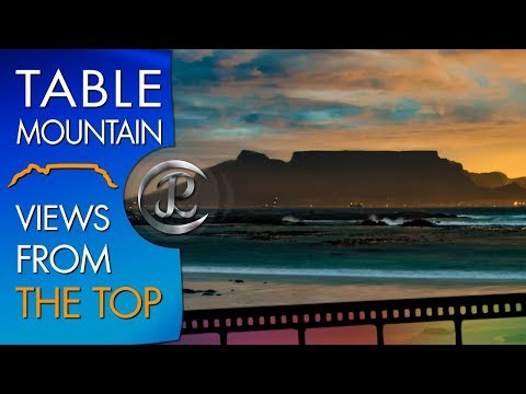 Table Mountain Hike Cape Town: Table Mountain Top View To Hout Bay
