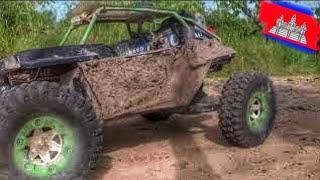 ឡានបញ្ជា កប់ផុក! Wltoys 12428B Full throttle on 3800KV motor 60A ESC