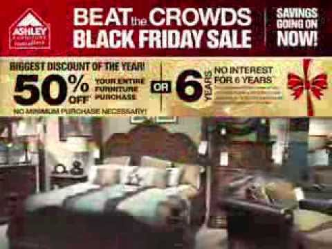 Ashley Furniture Homestore Corpus Christi 2013 Beat The Crowds Black Friday Sale Youtube