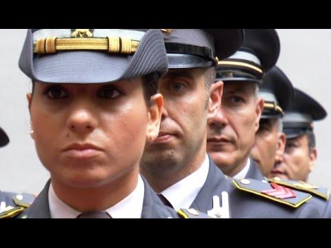Napoli - La Guardia di Finanza celebra il 242esimo anniversario (23.06.16)