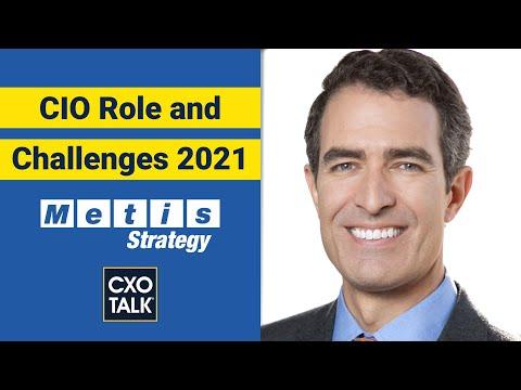 Chief Information Officer (CIO) Role 2021 - CXOTalk #692