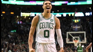 Jayson Tatum EPIC DUNK Over Lebron James Cavaliers vs Celtics Game 7