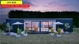 Life Box: Luxury Shipping Container Tiny House- New Zealand