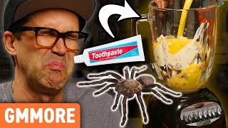 Toothpaste and Tarantula Smoothie