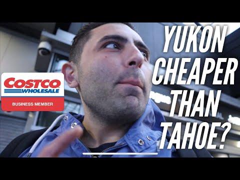 CHEAPER to Lease a Yukon than a Tahoe?