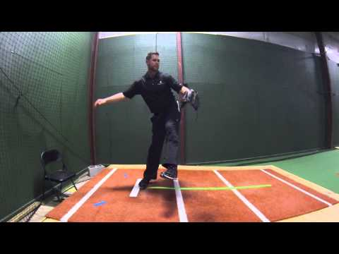 How to slide step in the pitching delivery