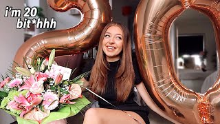 20th Birthday Vlog!! Surprises & I bought myself WHAT?!