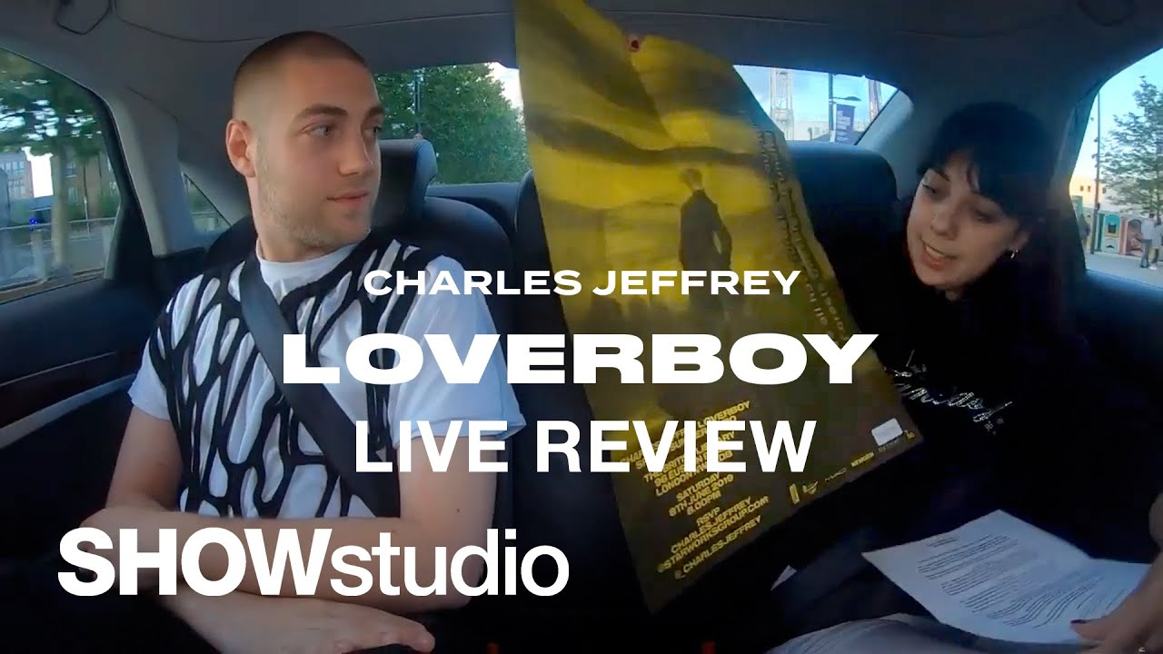 Loverboy Tour 2020 Charles Jeffrey LOVERBOY   Spring / Summer 2020 Menswear Live