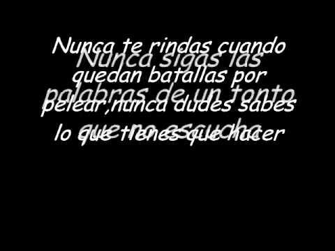 No more words-Jeff Hardy(Letra en Español)