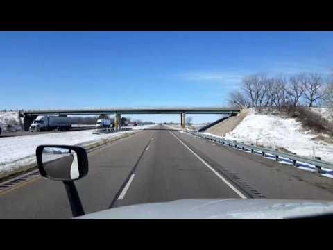 Bigrigtravels Live! - Grand Island to Big Springs, Nebraska - Interstate 80 - February 25, 2017