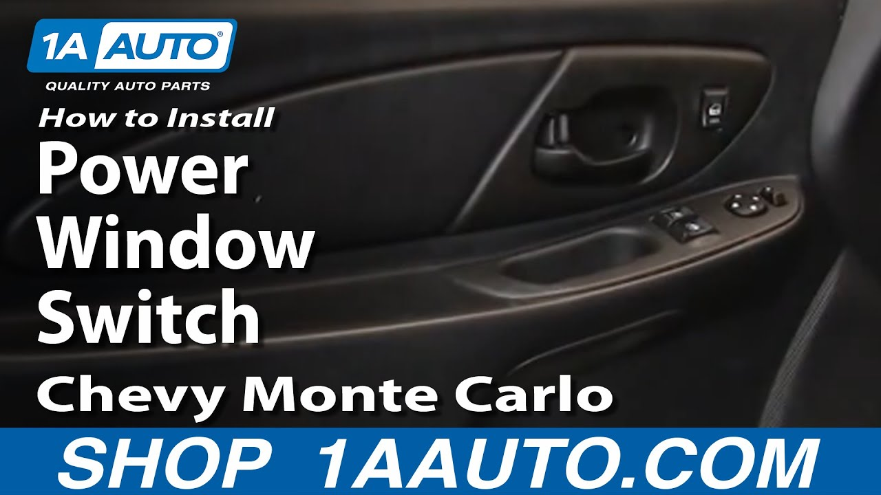 maxresdefault how to install replace power window switch chevy monte carlo 00 07 1970 Chevrolet Monte Carlo at creativeand.co