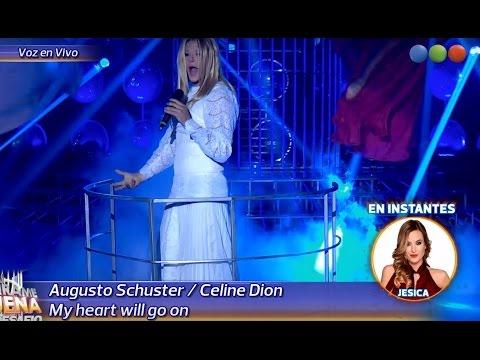 Augusto Schuster es Celine Dion - Tu Cara me Suena 2015