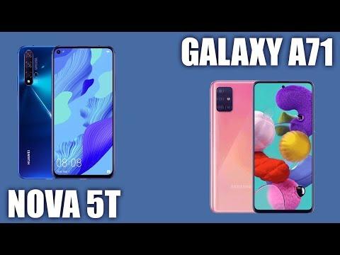 Samsung Galaxy A71 Vs Huawei Nova 5T. 🦾 Кто круче?