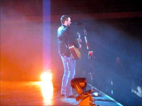Eric Church Salt Lake City Acoustic Concert January 31 2015 Put A Drink in My hand