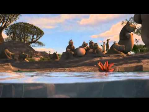 Madagascar 2 Moto Moto's song: Big and Chunky [Engsub]
