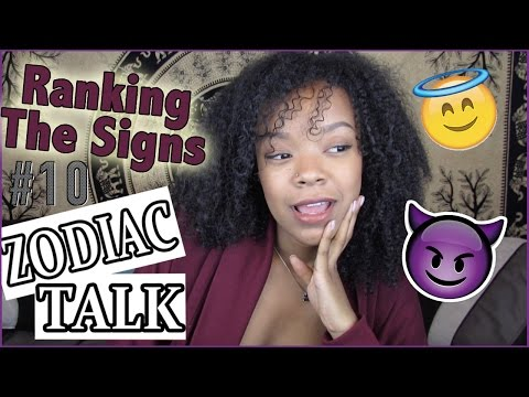 MY FAVOURITE/LEAST FAVOURITE SIGNS + WHY!! | Zodiac Talk