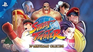 Street Fighter 30th Anniversary Collection – Launch Trailer | PS4