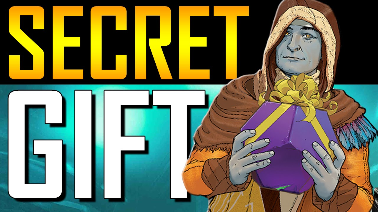Destiny - Secret Cryptarch Gift! - YouTube