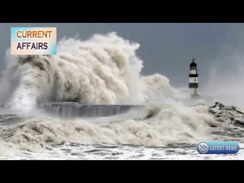 Latest Current Affairs - Today Hurricane Ophelia is Going to Hit Ireland