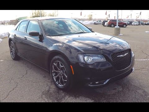 2015 Chrysler 300s Awd Black Black Wheels Navigation All New