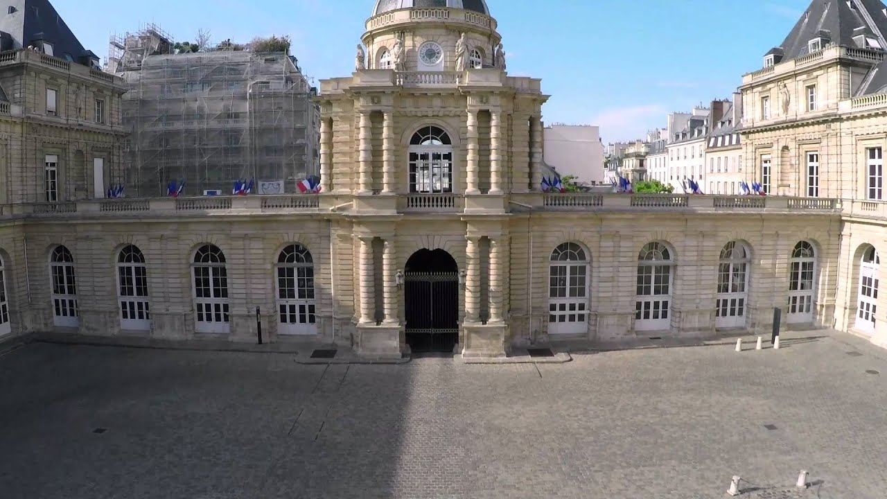 architecture du palais du luxembourg youtube. Black Bedroom Furniture Sets. Home Design Ideas