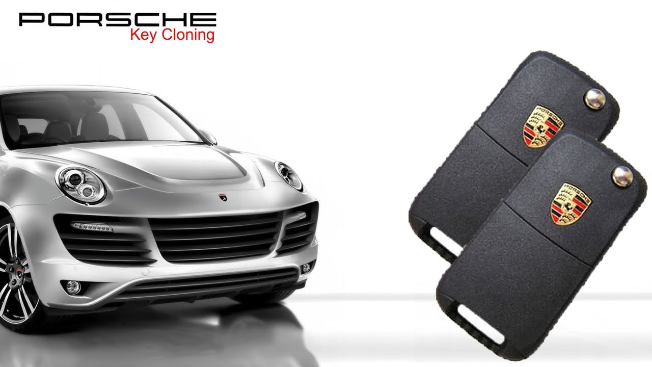 Porsche Cayenne Key Cloning - YouTube