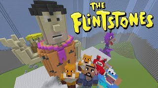Minecraft XBOX - Hide and Seek - The Flintstones