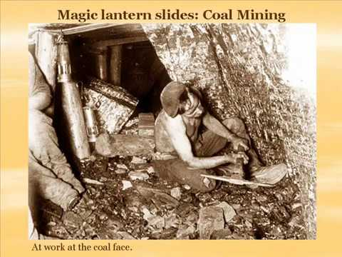 Early Coal Mining Photos From Magic Lantern Slides