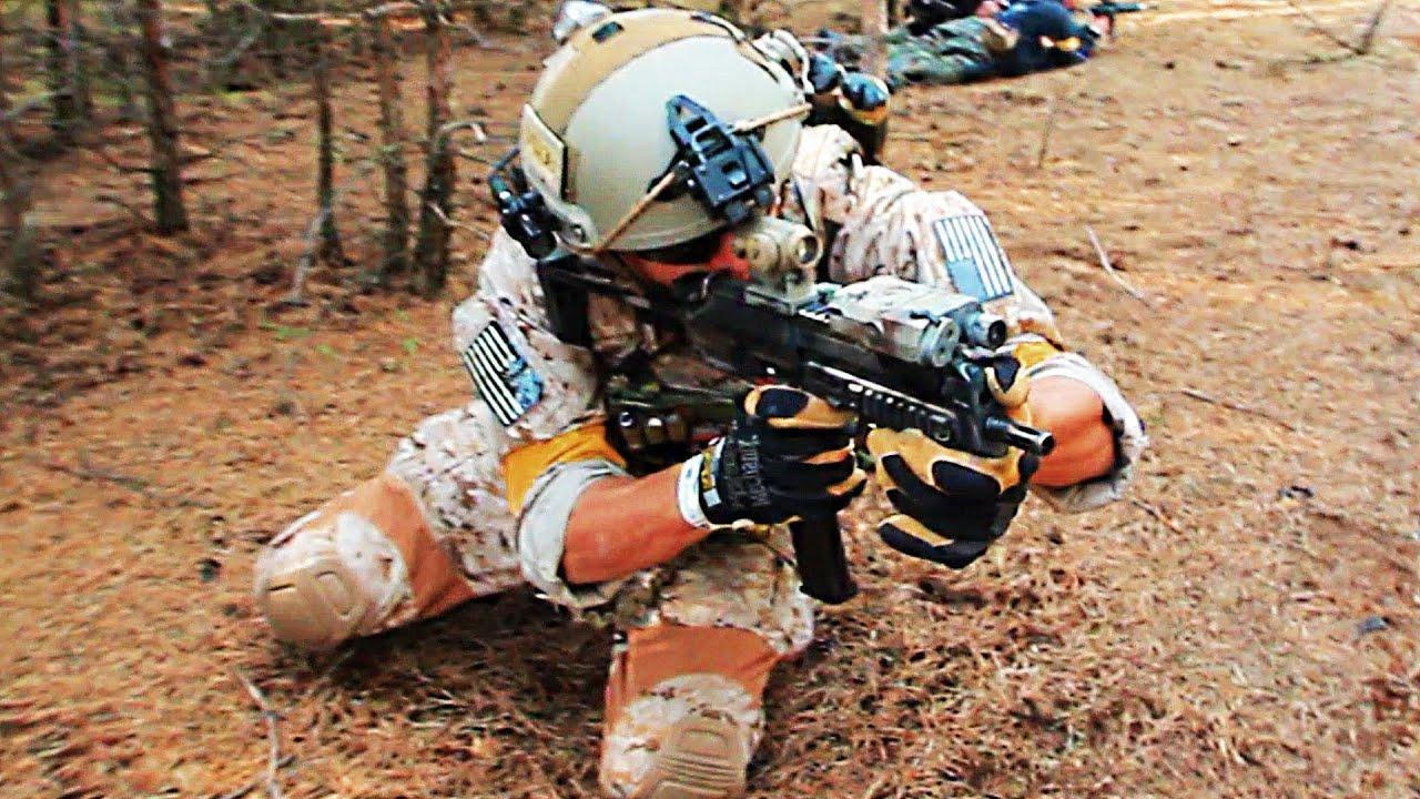 US NAVY SEALS Battledisplay Airsoft Big Game || P5 ||