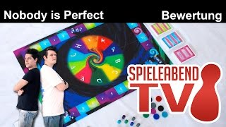 Spieleabend #1 ★ Nobody is Perfect ★ Teil 3 - Bewertung