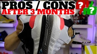 3 months after wearing adidas 93 17 eqt boost pros cons