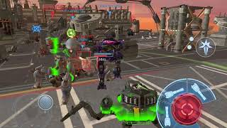 War Robots Test Server 4.2: Prototype Robots RAYKER and INVADER Gameplay